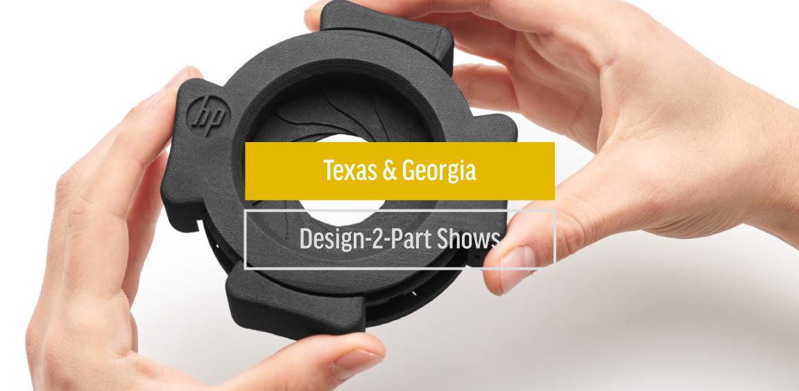 Texas & Georgia Design-2-Part Shows (March)