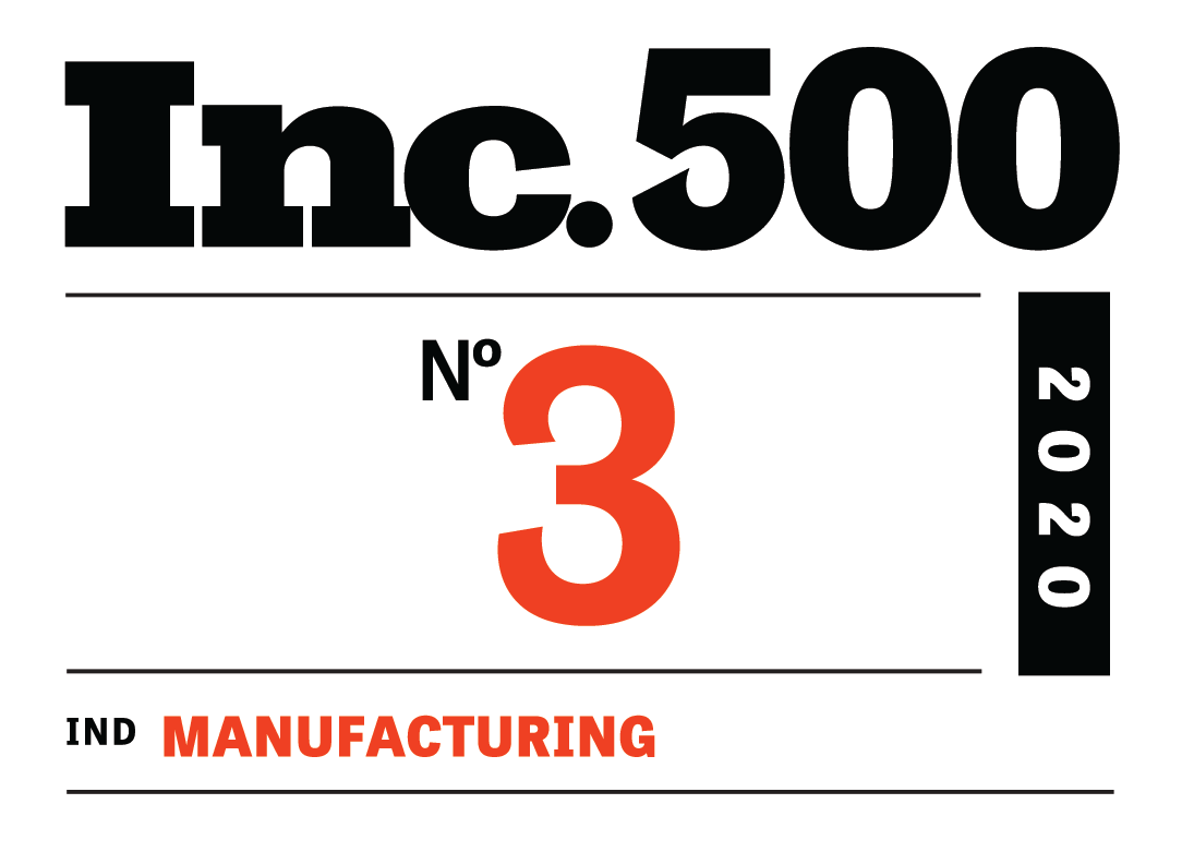 GoProto earns the highest ever ranking for an Additive Manufacturer on the Inc. 500 fastest growing private companies