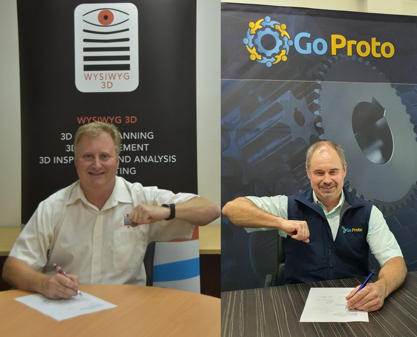 Australian 3D Scanning & Printing Business Merge –  Wysiwyg 3D Joins the GoProto Group.